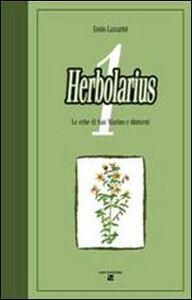Herbolarius. Le erbe di San Marino e dintorni