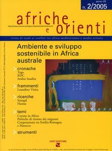 Rallydeicolliscaligeri.it Afriche e Orienti (2005). Vol. 2: Ambiente e sviluppo sostenibile in Africa australe. Image