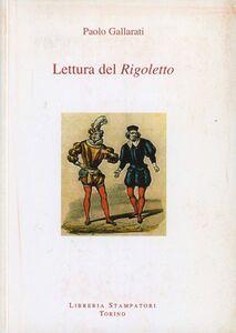 Lettura del «Rigoletto»
