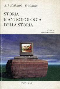 Storia e antropologia della storia