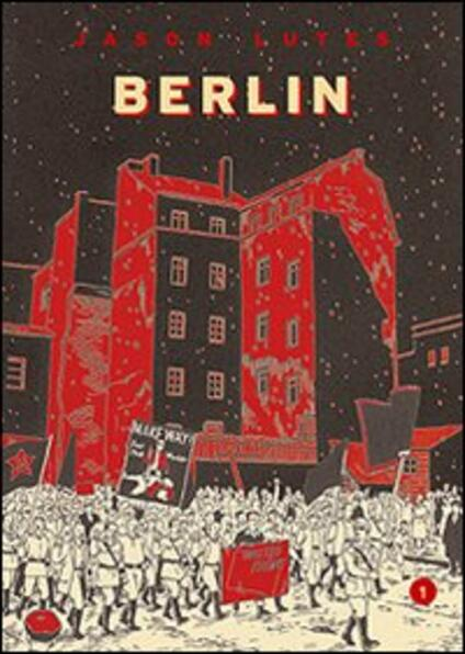 Berlin. Vol. 1: La città delle pietre - Jason Lutes - copertina