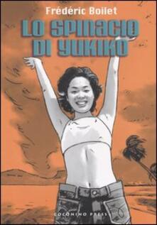 Lo spinacio di Yukiko - Frédéric Boilet - copertina