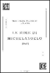 Le Rime di Michelangelo (1623)