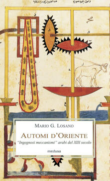 Scacciamoli.it Automi d'Oriente. «Ingegnosi meccanismi» arabi del XIII secolo Image