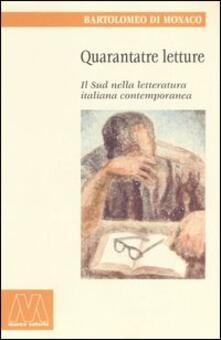 Winniearcher.com Quarantatre letture. Il sud nella letteratura italiana contemporanea Image