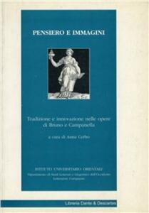Pensiero e immagini. Tradizione e innovazione nelle opere di Bruno e Campanella