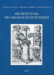 Ilmeglio-delweb.it Architettura tra ragione ed intenzioni Image