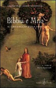 Bibbia e mito. Il linguaggio della fede - copertina