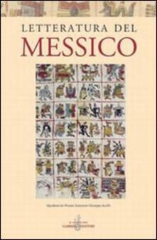 Letteratura del Messico - copertina