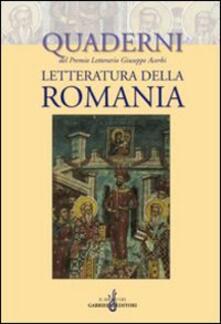 Letteratura della Romania - copertina
