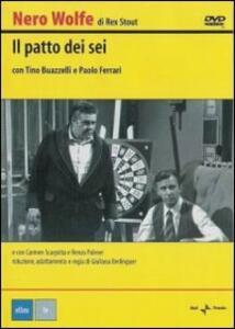 Nero Wolfe. Il patto dei sei di Giuliana Berlinguer - DVD