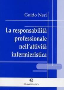 La responsabilità professionale nell'attività infermieristica