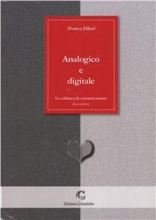 Analogico e digitale - Franco Fileni - copertina