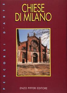 Chiese di Milano - Enzo Pifferi - copertina