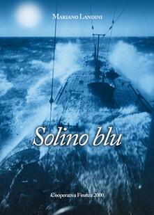 Solino blu - Mariano Landini - copertina