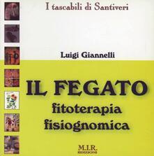Fegato: fitoterapia fisiognomica - copertina