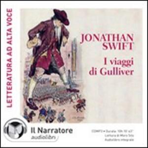 I viaggi di Gulliver. Audiolibro. CD Audio formato MP3. Ediz. integrale
