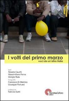 I volti del primo marzo. Voci da un'altra Italia - copertina