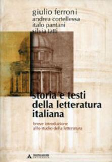 Winniearcher.com Storia e testi della letteratura italiana. Breve introduzione allo studio della letteratura Image