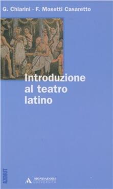 Filippodegasperi.it Introduzione al teatro latino Image