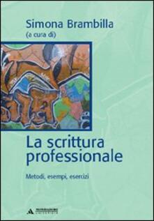 La scrittura professionale - copertina
