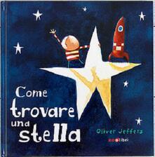 Come trovare una stella - Oliver Jeffers - copertina