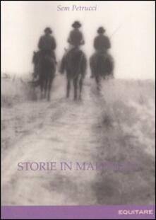 Storie in Maremma - Sem Petrucci - copertina