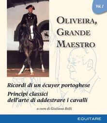 Oliveira, grande maestro. Vol. 1 - copertina
