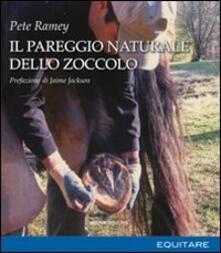 Il pareggio naturale dello zoccolo - Pete Ramey - copertina