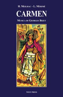 Carmen - Henry Meilhac,Prosper Mérimée,Georges Bizet - copertina