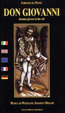 Don Giovanni. Ediz. italiana, francese, inglese e tedesca - Lorenzo Da Ponte,Wolfgang Amadeus Mozart - copertina