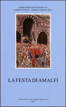 La festa di Amalfi - copertina