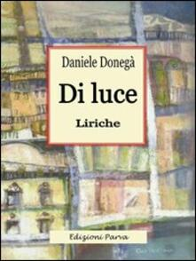 Di luce - Daniele Donegà - copertina