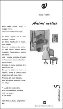 Animi motus - Mara Valeri - copertina