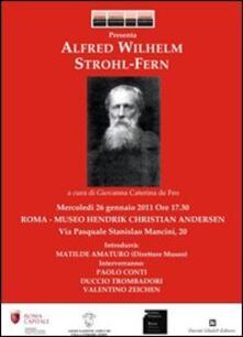 Alfred Wilhelm Strohl-Fern - copertina