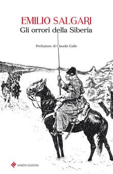 Gli orrori della Siberia - Emilio Salgari - copertina