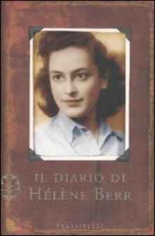 Il diario di Hélène Berr - Hélène Berr - copertina