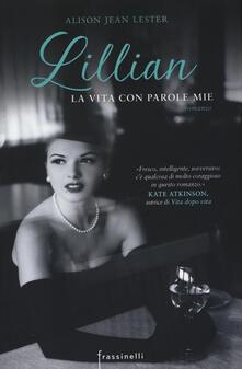 Lillian la vita con parole mie - Alison J. Lester - copertina