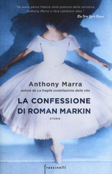 La confessione di Roman Markin - Anthony Marra - copertina