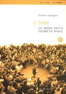 U sonu. La danza nella Calabria greca - Ettore Castagna - copertina