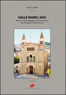 Dalle radici, noi! Percorso storico-religioso sulla parrocchia San Giuseppe e Sant'Antonio - Benito Cagnin - copertina