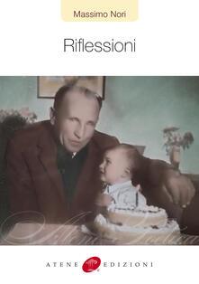Riflessioni - Massimo Nori - copertina