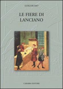 Le fiere di Lanciano - Luigi Russo - copertina