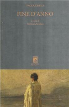 Fine d'anno - Paola Drigo - copertina