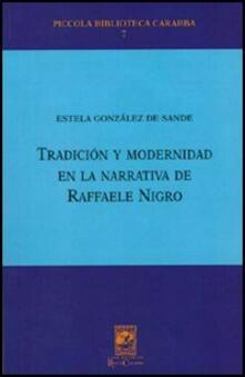 Tradición y modernidad en la narrativa de Raffaele Nigro - Estela González de Sande - copertina