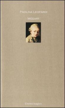 Mozart - Paolina Leopardi - copertina