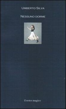 Nessuno dorme - Umberto Silva - copertina