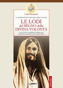 Le lodi del regno della Divina Volontà - Luisa Piccarreta - copertina