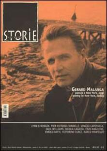 Storie. All write (2002). Vol. 44: Gerard Malanga. Poesia a New York, oggi­Poetry in New York, today. - copertina