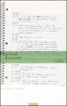 Glifo - Percival Everett - copertina